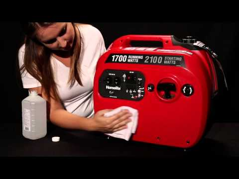 How To Apply Skinit Skin to Homelite Inverter Generator