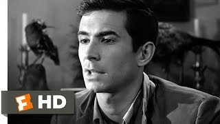 We All Go a Little Mad Sometimes - Psycho (3/12) Movie CLIP (1960) HD