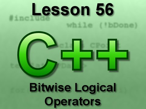 C++ Console Lesson 56: Bitwise Logical Operators