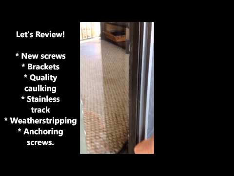 Weatherstripping Woes- A Comprehensive Approach to Repair