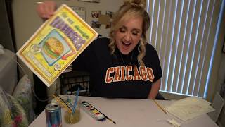 Painting Watercolors & Simping | Brittany Broski