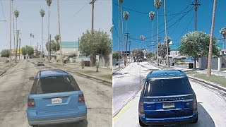 GTA 5 Xbox 360 vs $10,000 Gaming PC! Ultra-Realistic GTA 6 4k 60FPS  Graphics Mod! - getplaypk