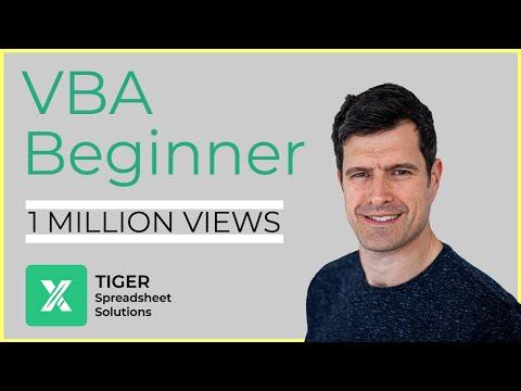 Excel Visual Basic (VBA) for Beginners - Part 4 of 4: Loops