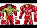 Download Red Hulk is angry! Go! Marvel Avengers Infinity War Hulk in Hulkbuster armor! - DuDuPopTOY MP3,3GP,MP4