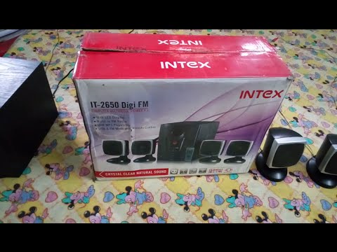 Intex IT-2650 DIGI FM - UNBOXING TEST & REVIEW IN BENGALI (Bangla) - RICKPEDIA