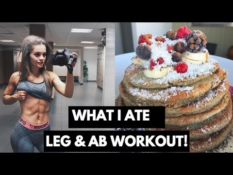 WHAT I EAT IN A DAY // BUTT & LEG WORKOUT // Vegan Bodybuilding