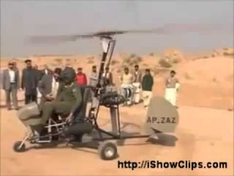 Amazing Gyrocopter ( Helicopter ) - Made in Pakistan - playithub com