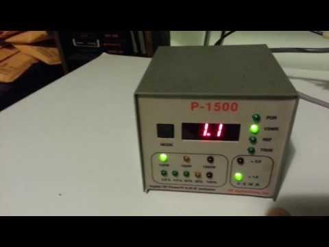 RF Applications P-1500 Watt Digital SWR Power Meter