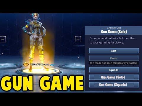 NEW GUN GAME GAMEMODE in Fortnite! (Confirmed By Epic DEV)