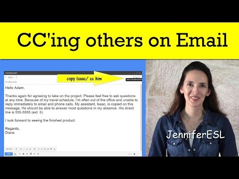 Copying (cc'ing) Others on Email in English - Tips and Useful Phrases