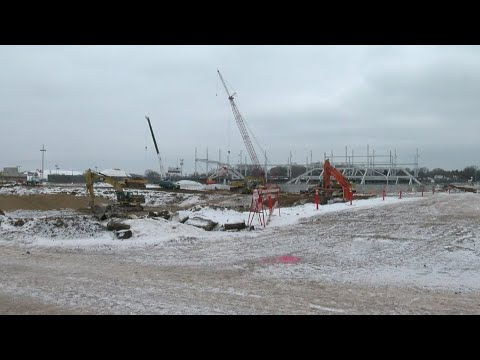 Construction Crews Making Progress On MLS Stadium