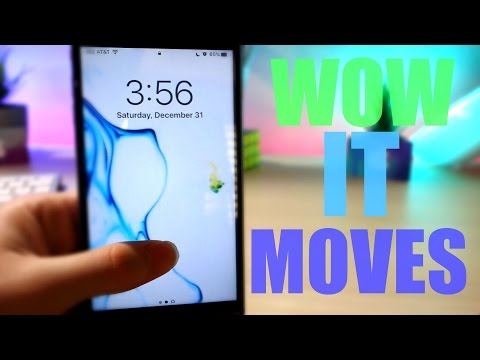 HOW TO GET EPIC LIVE WALLPAPERS ON IOS 10