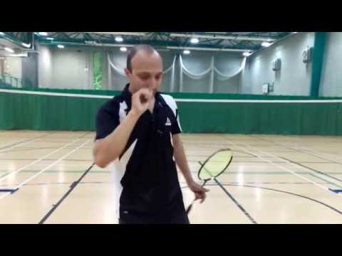 Badminton Fundamentals - Backhand