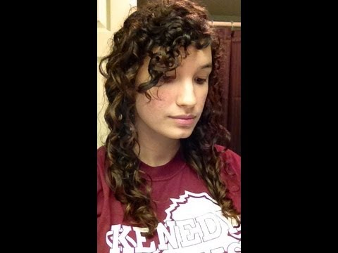 How to: Dry + scrunch curly hair (no heat, encourages curls, + no frizz!)