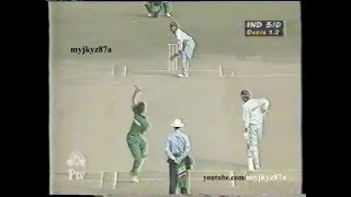 Final of Independence Cup 1998 : Pakistan Beat India by 6 wickets at Dhaka