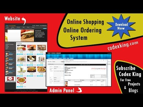 Download Online Ordering or Shopping Cart Project in php