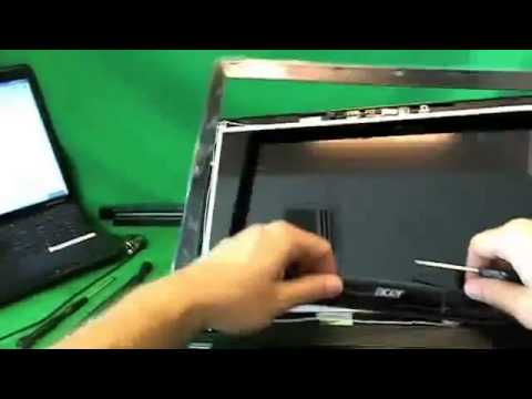 Acer Aspire E1 Laptop Screen Replacement Procedure  YouTube