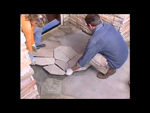 CRAZY PAVING- How to lay crazy paving by Stone Pavers PL Australia