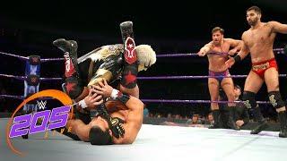 Goldust vs. Drew Gulak, Tony Nese & Ariya Daivari: WWE 205 Live, Jan. 16, 2018