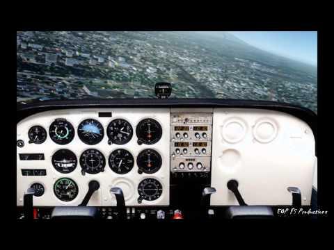 ✈ Cessna C172 Traffic Pattern Fortaleza Flight Simulator HD - Learn to Fly ✈