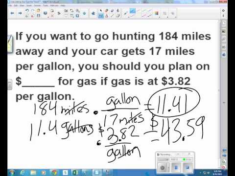 Calculate Gas Costs for Travel video