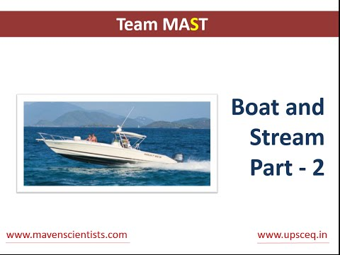 Boats and Streams - Concepts and Tricks (easiest approach) - Part 2 | Team MAST