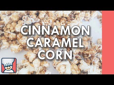 How to make cinnamon caramel corn
