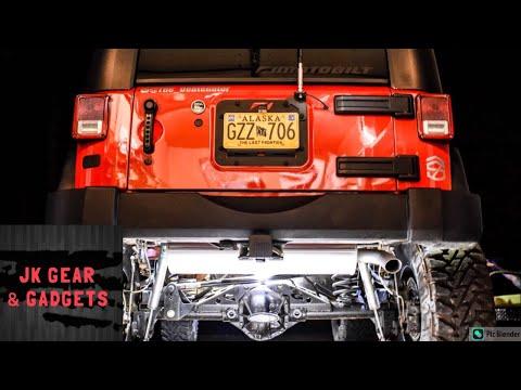 Jeep Wrangler Spare Tire Delete
