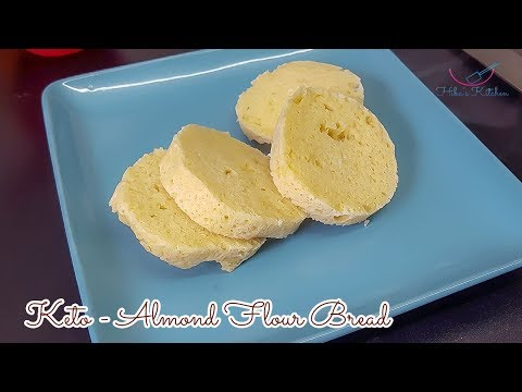 How To Make 90 Second Almond Flour Mug Bread - Keto - By Hibas Kitchen