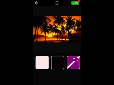 InstaCrop for iOS - Post Full Size Photos to instagram Without Cropping