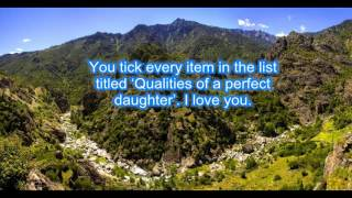 Feel the Love - Mother Daughter Quotes