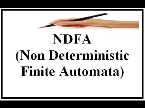 NDFA(Non Deterministic Finite Automata)