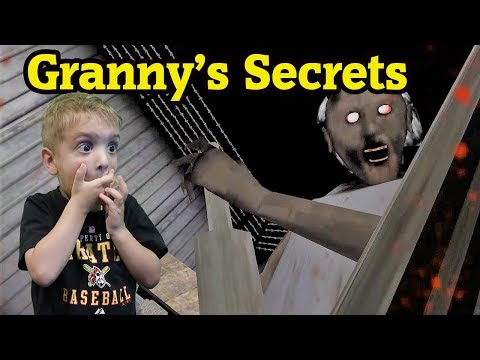 ESCAPE FROM GRANNYS HOUSE?!! Granny Horror Game! Twin Toys Jumpscare
