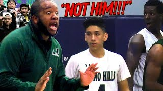 Coach Did NOT Want WILL PLUMA To Shoot! [HEATED END] Will, Ray & Big O EAT! Chino Hills VS Upland