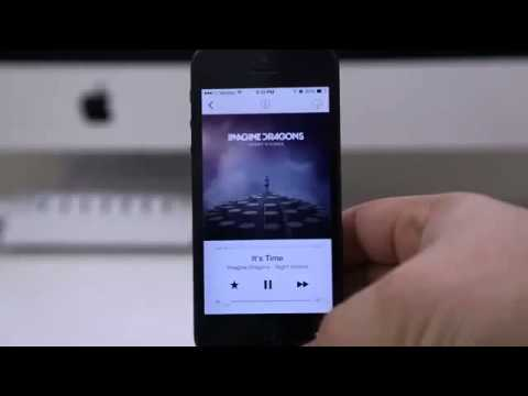 Hands On iOS 7 With iTunes Radio   New Features