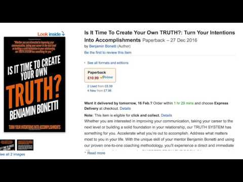Is It Time To Create Your Own TRUTH?: Turn Your Intentions Into Accomplishments