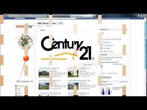 How to Make a Custom Facebook Page for Real Estate Business using GoGoPin - Tutorial