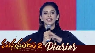 Rakul Preet Singh Speech At Manmadhudu 2 Diaries Event || Akkineni Nagarjuna,Rakul Preet