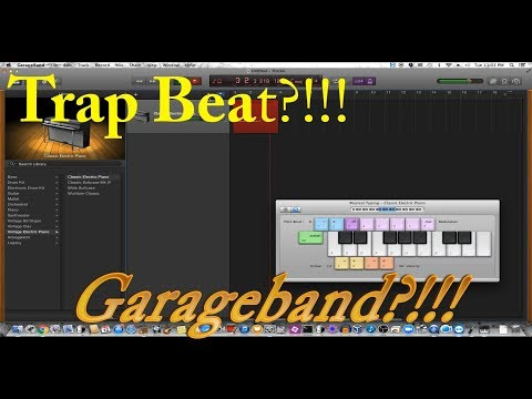 How To Make A Trap Beat In Garageband (FOR BEGINNERS!!!)