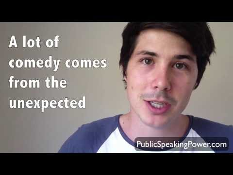 How To Make Your Own Funny Public Speaking Jokes