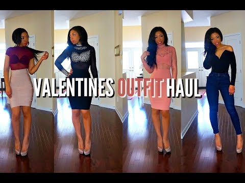 VALENTINE'S DAY OUTFITS - $400 FASHION NOVA TRY ON HAUL - HOT OR NOT?!
