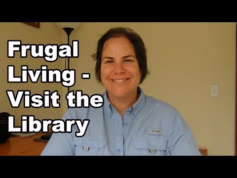Frugal Living - Visit the Library