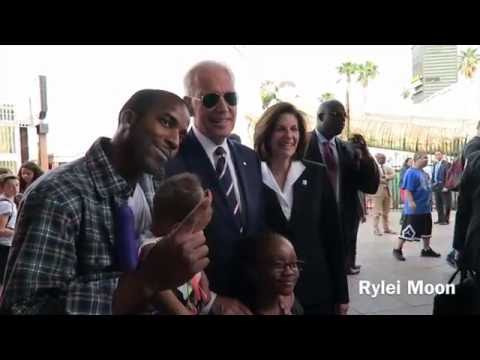 Joe Biden in Las Vegas