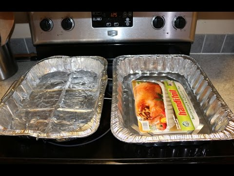 How to Fix Holes in Aluminum Turkey Pan Thanksgiving Christmas Emergency DIY Cooking