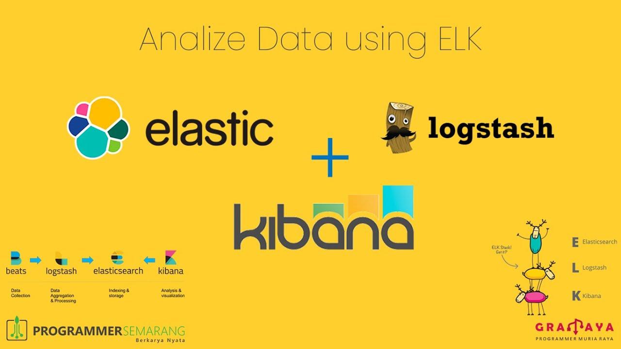 Analisa Data Menggunakan ELK (ElasticSearch Logstash Kibana) - PS Virtual Meetup