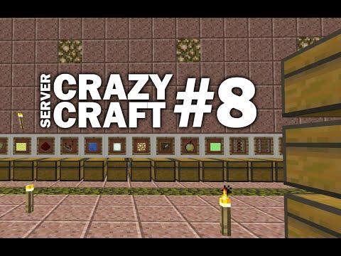 Minecraft PS4 - RECAP - LIGHTNING - NOOBS #8 CRAZY CRAFT - LET'S PLAY ( PS3 / XBOX )