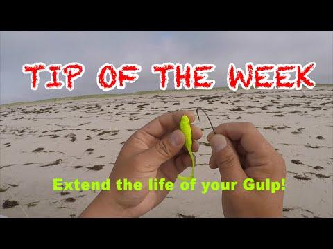 Surf Fluke and Pier + Tip of the Week- Use Gulp Longer