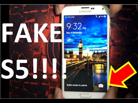 Best Way to check Fake and Original Samsung Galaxy S5 - Before Buy