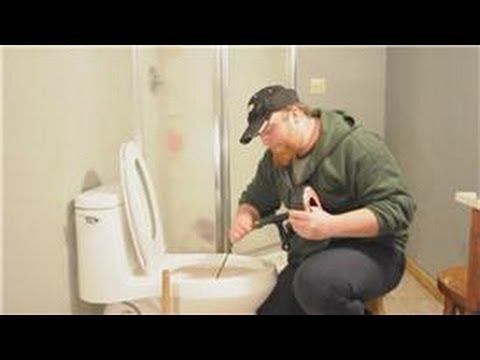 Bathroom Repair : Slow Draining Toilets