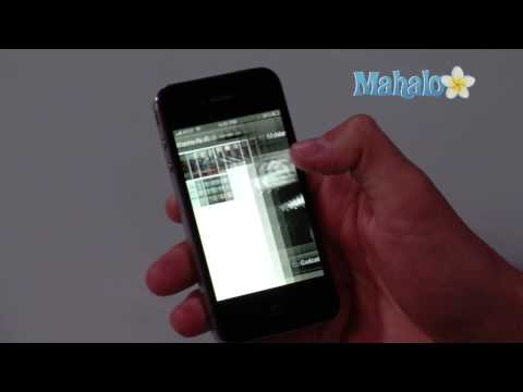 How to add picture to contact on iPhone 4